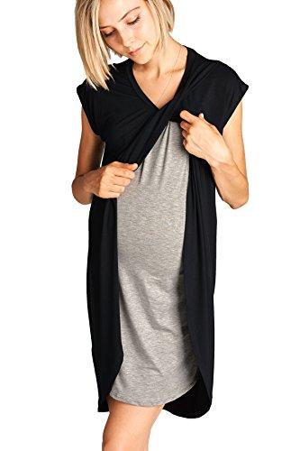 Hello Asymmetrical Breastfeeing Maternity Nursing product image