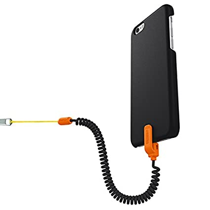 detailed look 5dd60 c706f Kenu Highline for iPhone 6/6s | Security Cell Phone Bungee Leash and  Protective Case
