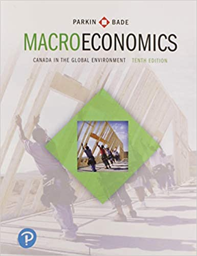 Canada in the Global Environment Study Guide for Macroeconomics