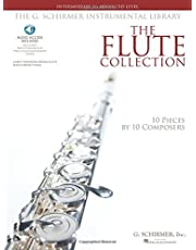 The Flute Collection - Intermediate to Advanced Level: Schirmer Instrumental Library for Flute & Piano
