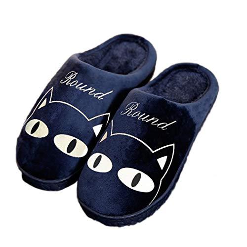 Nikimi Morbide Pantofole Per Le Da Donna Ragazze Casa Primavera Super Profondo E Blu Comode qq4wdYr