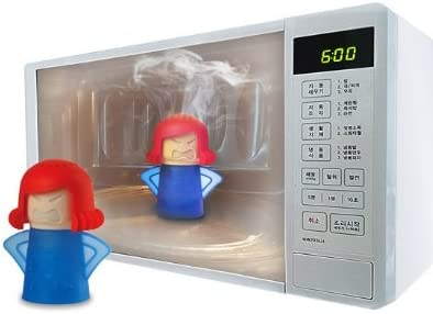 Limpiador de microondas Angry Mama microondas horno limpiador a ...