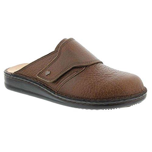 Finn Comfort Mens Amalfi Brown Leather Sandals 9.5 US