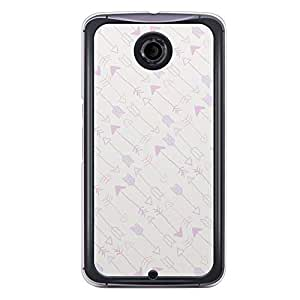 Loud Universe Nexus 6 2015 Love Valentine Printing Files A Valentine 103 Printed Transparent Edge Case - Multi Color