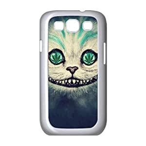 Cheshire Cat Face Samsung Galaxy S3 Fashion Case White