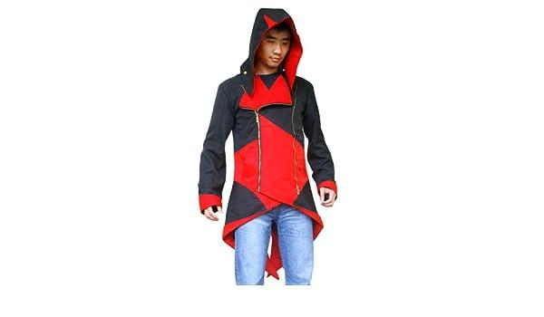 Assassins Creed 3 Connor Kenway Rojo y Negro Traje de ...