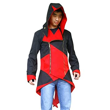 Hoodie Assassin's Rouge 3 Jacket Creed Manteau Kenway Connor Veste oBdxeC