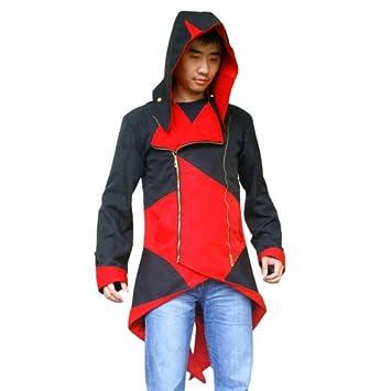 Assassins Creed 3 Connor Kenway Rojo y Negro Traje de chaqueta ...