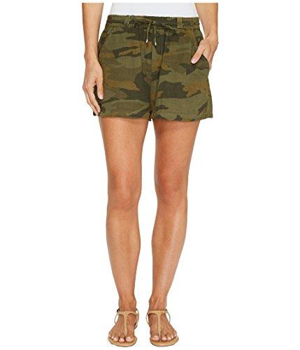 ノベルティアプライアンス排泄する[スプレンディット] Splendid レディース Tie Waist Shorts パンツ Military Olive XS (Womens 0-2) [並行輸入品]
