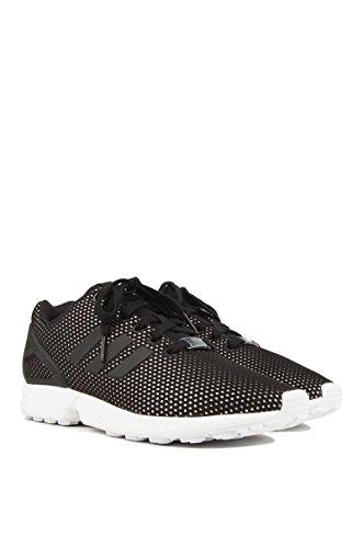 Adidas Originals Vrouwen Zx Flux W Mode Sneaker, Zwart / Zwart / Wit, 7 M Ons