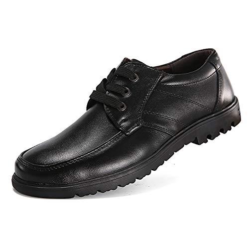 Formali Lavoro Aumento Scarpe Aziendali Mocassini Pelle Uomo Casual In Scarpe Da Scarpe Da Black Altezza ZP4Oq4U
