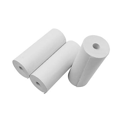 Aibecy Rollos de papel térmico Impresora de papel de 80 * 30 ...