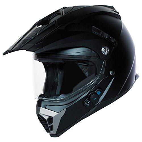 Bilt Techno Bluetooth Adventure Motorcycle Helmet Lg