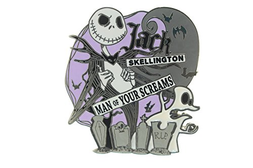 "Price comparison product image Disney's Jack Skellington ""Man of Your Screams"" Pin"
