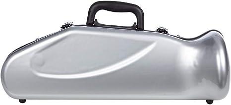 Estuche para trompeta fibra de vidrio Ultra Light C/B silver M-Case: Amazon.es: Instrumentos musicales
