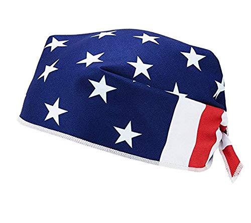 Mission Enduracool Cooling Bandana, USA Flag, One Size
