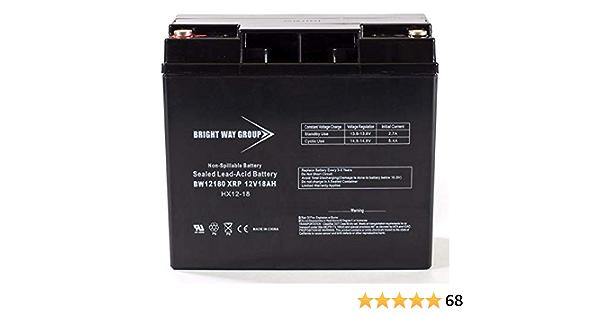12V 18AH 600 Watts Car Stereo Battery replaces SPV20 SPP680 USA *FREE SHIPPING*
