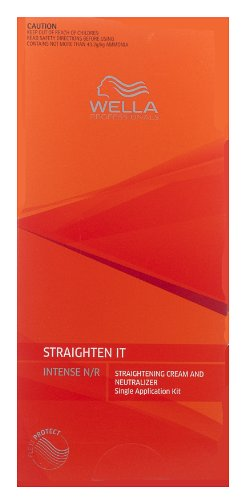 Straightening Cream Hair (1 BOX OF WELLA STRATE WELLASTRATE INTENSE STRAIGHTENER STRAIGHTENING HAIR CREAM)