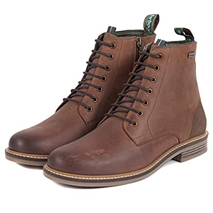 Barbour Mens Seaham Derby Walking Outdoor Hiking Trekking Ankle Boots - Conker 2
