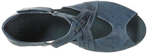 Pensare! Donne Bruscamente Caviglia Cinturino Blu (zaffiro / Kombi 90)