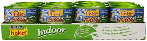 Purina Friskies Indoor Flaked Ocean Whitefish Dinner With Ga