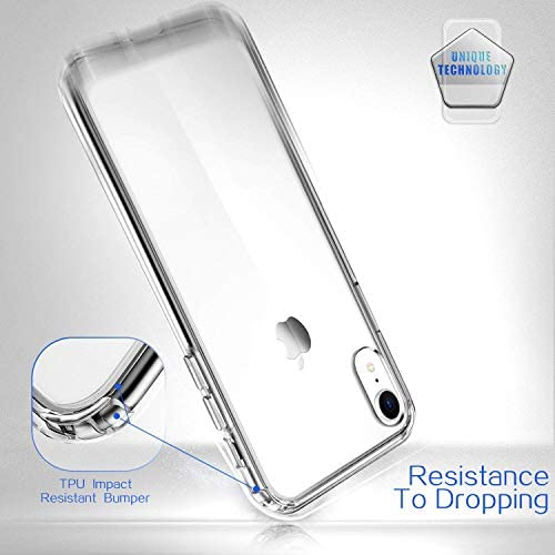 Mkeke Compatible with iPhone Xr Case,Clear Anti-Scratch Shock Absorption Cases for six.1 Inch