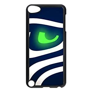 Black Case NFL Seattle Seahawks For Case Samsung Galaxy S4 I9500 Cover