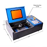 Orion Motor Tech 40W CO2 Laser Engraver Cutter with