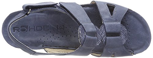 Talons Bleu Viareggio Femme Jeans 55 Compensés Rohde FfHn8x5On