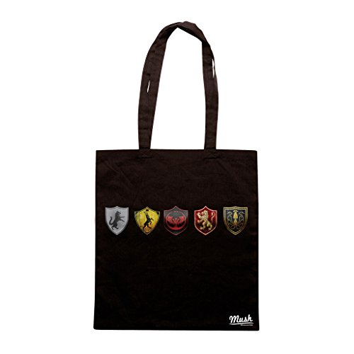 Borsa GAMES OF THRONES STEMMI CASATE - Nera - FILM by Mush Dress Your Style