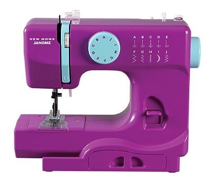 Amazon Janome Purple Thunder Basic EasytoUse 40Stitch Best Janome Basic 10 Stitch Portable Sewing Machine