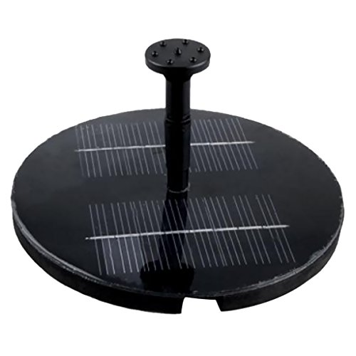 Accessory Kip Kit - 3 Spray Head Solar Pump Garden Fountain Pond Water Feature / Solar Powered Fountain Pump Kit for Fountains, Waterfalls and Water Displays / a Integrated One, No Separate Solar Panel and No Cable