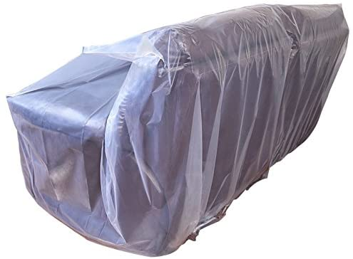 4127hwZYlJL. AC CRESNEL Furniture Cover Plastic Bag for Moving Protection and Long Term Storage (Sofa)    This extra thick plastic bag will withstand tear and rip from moving. Made with premium grade all new, non-recycled plastic it is highly durable, able to keep your sofa well protected even in long term storage. Money back satisfaction guarantee.