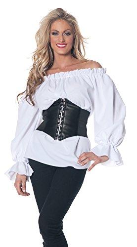 Underwraps Renaissance Long Sleeve Costume - Large - Dress Size (Underwraps Decor)