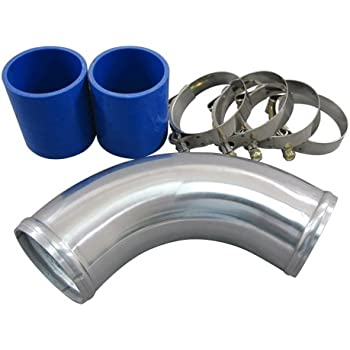 """CXR Turbo NA 2.75/"""" COLD Air intake Pipe Throttle body pipe FOR BMW E30"""