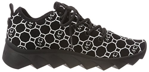 Marc Cain Women's Kb Sh.55 M06 Trainers Mehrfarbig (Black and White) iNZ3d