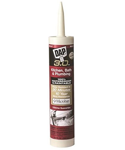 Dap 00799 Bath, Kitchen And Plumbing Sealant, Biscuit, 9 Ounce by DAP