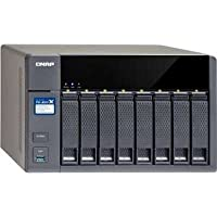 QNAP TS-831X-8G-US TS-831X High-Performance 8-Bay NAS with Built-In 2 x 10GBE SFP+