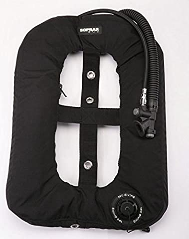 Tekno Donut BC BCD light Black Single Tank Wing Underwater Scuba Diving Freediving Spearfishing Gear tech - Backplate Wing