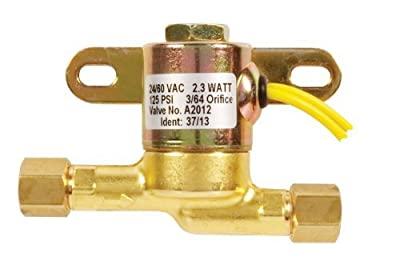 Gems Sensors Humidifier Fill Valve, 24 V, 60 Hz AC, 125 PSI