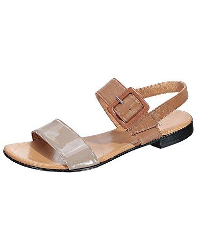 Marion Spath Damen 319-775 Sandalette Reh/Taupe