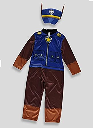bf77540ef Officially licensed Nickelodeon Paw Patrol fancy dress Boys Book Week Chase  Costume with Hat 3-