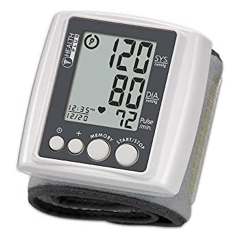 HoMedics Automatic Wrist Blood Pressure Monitor | Comfortable Wrist Cuff, 99 Stored Readings, Memory Average Function | Fast Accurate Readings, ...
