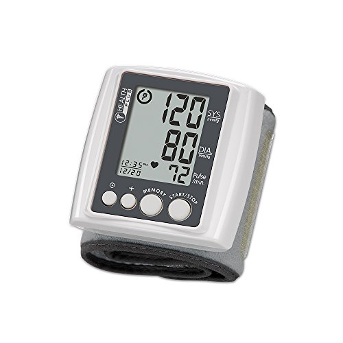 HoMedics  Automatic Wrist Blood Pressure Monitor | Comfortable Wrist Cuff, 99 Stored Readings, Memory Average Function | Fast Accurate Readings, National Institute of Health Risk Assessment