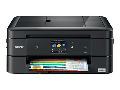 Brother MFC-J880DW All-in-One Color Inkjet Printer, Compact & Easy to Connect, Wireless, Automatic Duplex Printing, Amazon Dash Replenishment Enabled from Brother