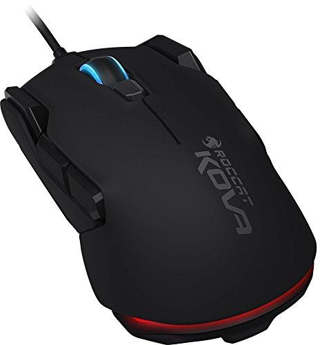 Roccat Kova - Limited Amazon Edition - Pure Performance Gaming Maus (7000 dpi, Rechts-/Linkshänder, 12 programmierbare Maustasten) schwarz