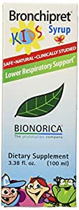 Bionorica Bronchipret Syrup for Kids, 100ml, 3.38 Ounce