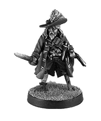 Pirate Miniatures: Captain McBride - Black Scorpion Miniatures