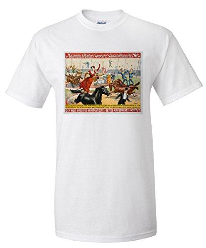 barnum-and-bailey-erstes-auftreten-in-deutschland-vintage-poster-usa-c-1898-white-t-shirt-xx-large