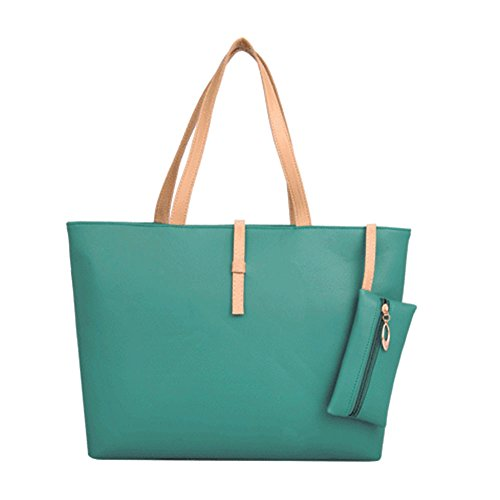 Bag Hinmay Crossbody Bag Shoulder Messenger Tote Purse Zip Women Green Handbag Beige Fashion Lady Pwqx5fBpf